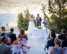 Weddings in Kefalonia (Cephalonia), Civil, Catholic, Orthodox ceremony, Greek islands Skiathos, Greek Wedding, Greek Islands, Getting Married, Catholic, Wedding Ideas, Weddings, Table Decorations, Greek Isles