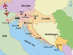 Gate 1 Travel - 11 Day Affordable Croatia & Slovenia
