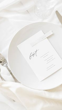 Fine art handmade paper wedding menu and place cards with charcoal vine illustration, acrylic white paint, calligraphy names, and mixed media paper, crinkled vellum, modern, ethereal, minimalist style - Gatherie Creative