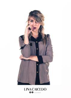 Camisa BARBARA 1 Ethical Fashion, Raincoat, Jackets, Rain Jacket, Down Jackets, Sustainable Fashion, Jacket