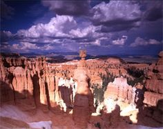 Bryce Canyon National Park - Didn't spend enough time here.  Will need to go back someday.