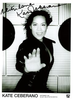 One of my treasured signed Musical Goddess photos.