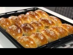 ✅POĞAÇA Hamuruna 1 Şişe Soda Kattım Yumuşaklıkta Rekor Kırdı👌🏻Seval Mutfakta - YouTube Hot Dog Buns, Hot Dogs, Turkish Recipes, Hamburger, French Toast, Bread, Breakfast, Food, Youtube