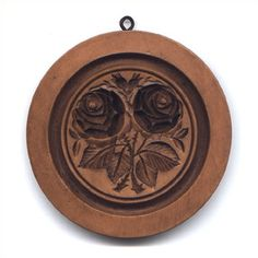 Double Rose Circle Cookie Mold  $32.00 at House on the Hill website.