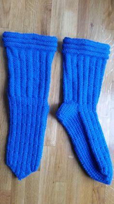 NEW! UUTTA!  Warm woolenstockings wool socks with soft base digital instruction pattern size 39-42 /Villasukat pehmeällä pohjalla digitaalinen ohje