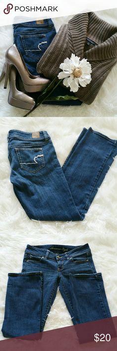 "SALE American Eagle Outfitters Premium Denim Awesome American Eagle Outfitters Premium Stretch Denim 29"" Inseam 99% Cotton 1% Spandex American Eagle Outfitters Jeans Boot Cut"