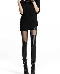 Sexy Elastic Artificial Leather Legging  via Shopmine, get product recommendations based on people you follow!