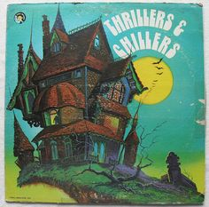 1973 record vintage halloween lp thrillers chillers 1970s sound effects