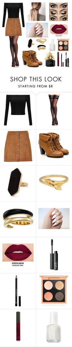 """Autumn"" by whatevercece on Polyvore featuring moda, Soaked in Luxury, Jaeger, ChloBo, Michael Kors, Smashbox, NARS Cosmetics, Givenchy, MAC Cosmetics y Topshop"