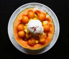 Fruta preparada con mucho rollo.