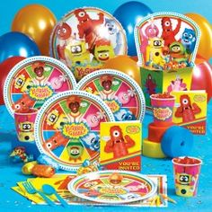 Yo Gabba Gabba! Birthday Party Supplies