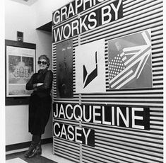 """Jacqueline Casey """"""""Jacqueline Casey spent 30 years at MIT, designing posters and graphics for lectures, symposia, concerts, exhibitions, and a wealth of events on campus"""" mit.edu"""