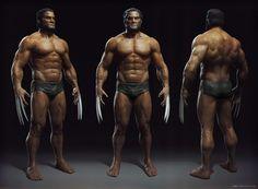 ArtStation - Wolverine Anatomy, Miro Petrov