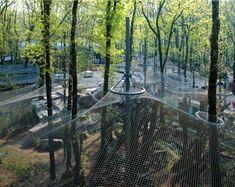 Burger Zoo - Leopard and Jackal Mesh Fence Enclosure