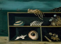 The Sea Chest by Adolph Gottlieb, 1942, Guggenheim Museum Solomon R. Guggenheim Museum, New York Estate of Karl Nierendorf, By purchase Art © Adolph and Esther Gottlieb Foundation/Licensed by VAGA, New York, NY Medium: Oil on canvas
