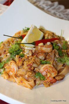 Easy Pad Thai Recipe – The best Tasting Pad Thai Recipe | Cooking with Thas