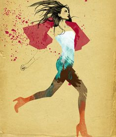 Showcase of Beautiful Fashion Illustrations