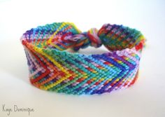 Added by Discord Friendship bracelet pattern 7954 #friendship #bracelet #wristband #craft #handmade #diy #fishbone