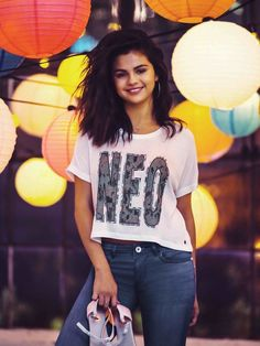 February 25: (HQ) New picture of Selena's 2015 Adidas NEO Spring collection