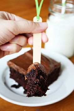 Fudgy Chocolate Zucchini Cake