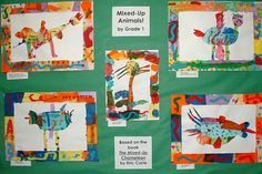 """using Carle's """"The Mixed up Chameleon""""  @Lisa White is this what you were thinking?"""