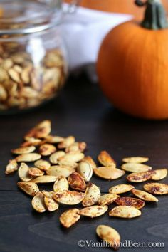 Sweet, Spicy, and Salty Pumpkin Seeds