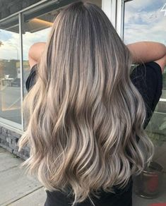 Luscious Ash – Salon Guys Best Picture For ash blonde balayage blue eyes For Your Taste You are look Ash Hair, Ombré Hair, Girl Hair, Ash Ombre Hair, Blonde Hair Looks, Brown Blonde Hair, Cool Toned Blonde Hair, Medium Ash Blonde Hair, Dark Ash Blonde Hair