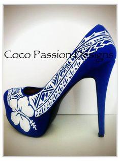 Fijian Tribal Inspired Shoes