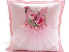 """The Princess Cushion - custom made"""" by MyShabbyCottage ... sweetness!"""