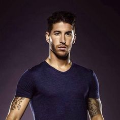 They have the eye-watering, skin-shivering, hair-raising Spanish statue that is Sergio Ramos. | 49 Reasons The Spanish World Cup Team Is Definitively The Hottest World Cup Team