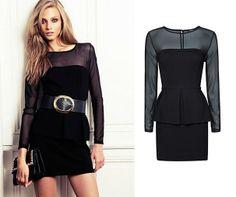 El siempre vestido negro que nunca falla!