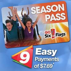 Six Flags Great America Announced This Week An Extension To The Park S Easy Pay Program That Reduces The Cost Of Six Flags Season Pass Six Flags Great America