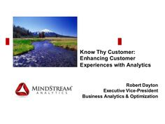 Know Thy Customer Analytics Know Thyself, Consulting Firms, Customer Experience, Decision Making, Business, Making Decisions