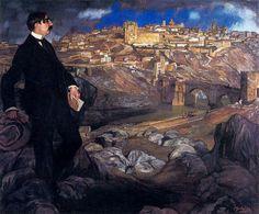 Retrato de Maurice Barrés. Ignacio Zuloaga y Zabaleta (España 1870 – 1945)