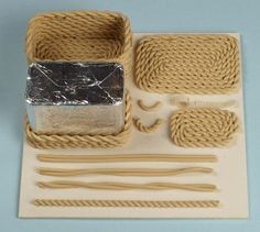 ;) diy rope basket
