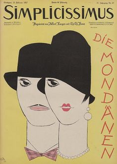 1927 - Cover illustration by Karl Arnold