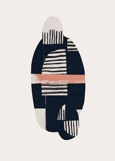 love the color and pattern in this illustration — curated by ajaedmond.com   minimalist design   graphic design   artwork   illustration