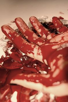 The beauty of blood