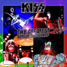 shared a photo from Flipboard Great Bands, Cool Bands, Kiss Album Covers, Vinyl Cd, Kiss Band, Hot Band, A Good Man, Rock And Roll, Songs