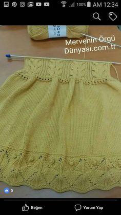 Knit Women Non-Felted Slippers Free Knitting Pattern Diy Crochet Sweater, Crochet Vest Pattern, Knit Baby Sweaters, Baby Knitting Patterns, Girls Knitted Dress, Knit Baby Dress, Crochet Girls, Crochet For Kids, Baby Cardigan