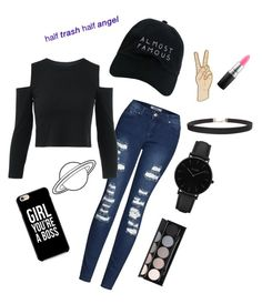 """""""h i p s t e r"""" by fl04t1ng-0ce4n ❤ liked on Polyvore featuring 2LUV, Nasaseasons, Caso, Witchery, CLUSE, Lucky Brand, MAC Cosmetics and Humble Chic"""