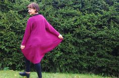Long wool cardigan. Bell Sleeves, Bell Sleeve Top, Wool Cardigan, Tops, Women, Fashion, Moda, Fashion Styles, Shell Tops