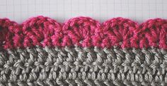 Edges are a great way to finish your crochet project. Learn how to crochet these five beautiful edges.Along with how to complete the stitches, included is a suggested number of stitches that can be worked on. If you find your last row has a few less stitches than called for, make an evenly spaced increase row. Fortunately, most of these are worked over a small number of stitches, so your increase row will likely not warp the shape of your fabric.