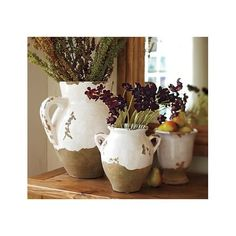 Tuscan Style Urns - want at Pottery Barn