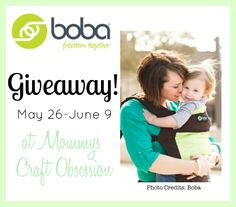 #WIN a Boba 3G carrier from Mommys Craft Obsession! ARV120-125