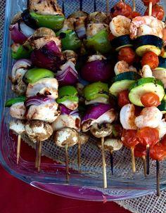 Chicken & Shrimp Kab