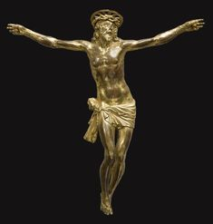 Italian gilt bronze corpus, attributed to Francesco Terilli (active 1575 to 1621) first quarter 17th century, Veneto.jpg (3809×4000)