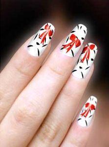 Nail art - christmas nail art ideas - Bridal Nail Art - nail polish bow accent design - #nailart  #christmas  #christmasnaildesign Love Nails, How To Do Nails, Pretty Nails, Fun Nails, Christmas Nail Designs, Christmas Nail Art, Bridal Nail Art, Nail Patterns, Cute Nail Art
