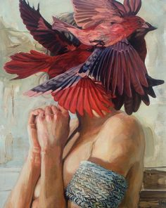 Paintings by Meghan Howland.