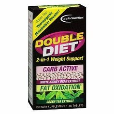 Applied Nutrition Double Diet Dietary Supplement Tablets